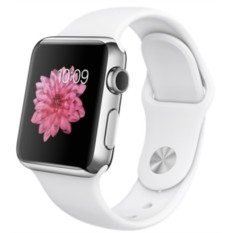 Apple Watch 38mm with Sport Band (White)