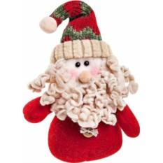 Мягкая новогодняя игрушка Дед Мороз