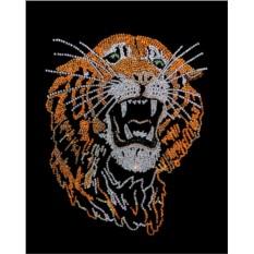 Картина с кристаллами Swarovski Тигр