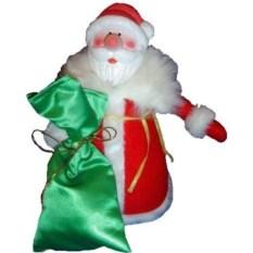 Игрушка Дедушка Мороз под елку, высота 28 см