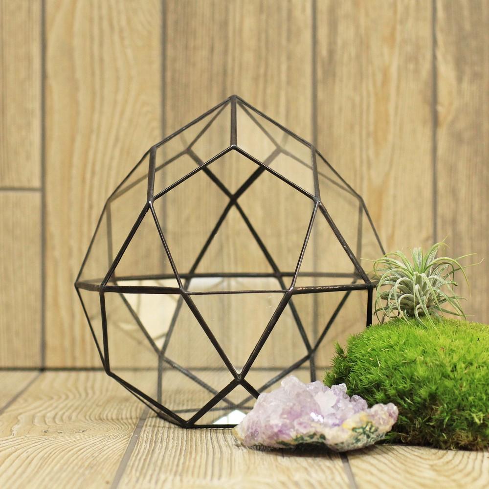 Геометрический флорариум своими руками 55
