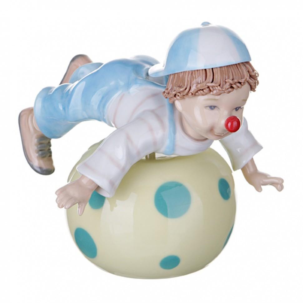 Музыкальная статуэтка Клоун Porcelain Manufacturing