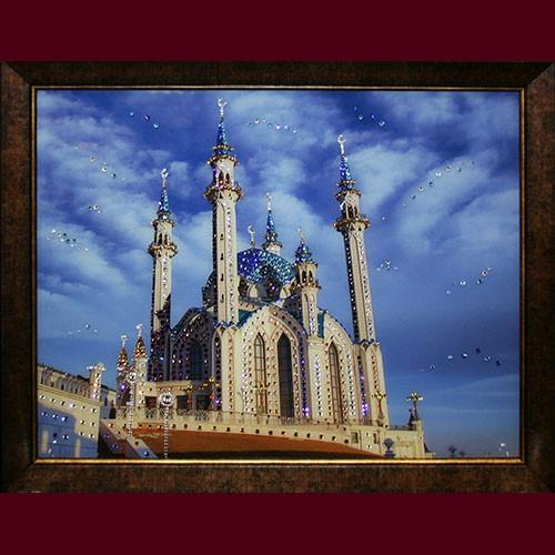Картина с кристаллами Swarovski Мечеть Кул-Шариф