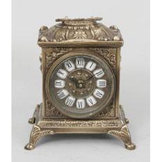 Часы настольные прямоугольные из бронзы Virtus