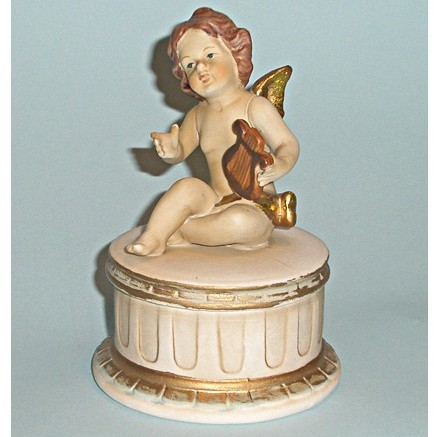 Фарфоровая шкатулка «Мудрый ангел»