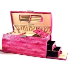 Шкатулка для ювелирных украшений цвета фуксии