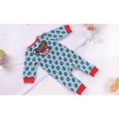 Детская пижама Britto Bear голубого цвета