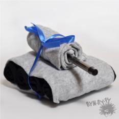 Подарочный набор носков Танки грязи не боятся