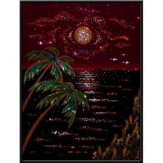 Картина с кристаллами Swarovski Карибский вечер