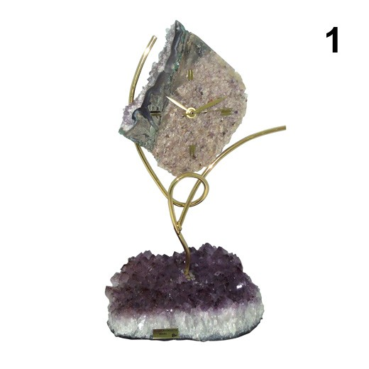 Часы-статуэтка Каменный цветок