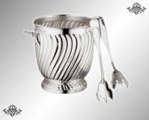 Серебряное ведро для льда Торче