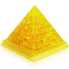 Желтая 3D головоломка Пирамида