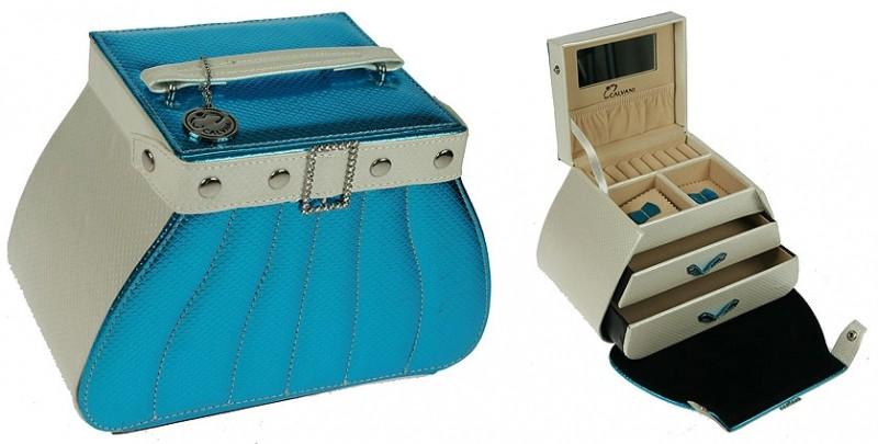 Шкатулка для ювелирных украшений Blue handbag