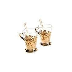 Chinelli Набор для чая на 6 персон в деревянной коробке