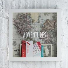 Копилка-рамка путешественника Adventures