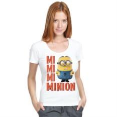 Женская футболка Mimimi Minion