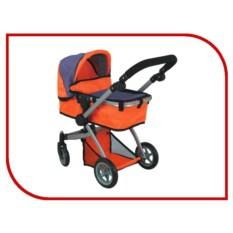 Оранжевая коляска-трансформер для кукол Buggy Boom Amidea