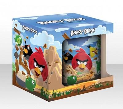 Кружка AngryBirds 300 мл., цветная в коробке
