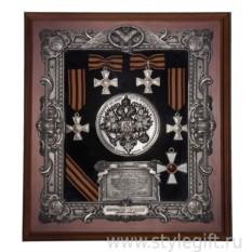 Панно Георгиевские кресты малое