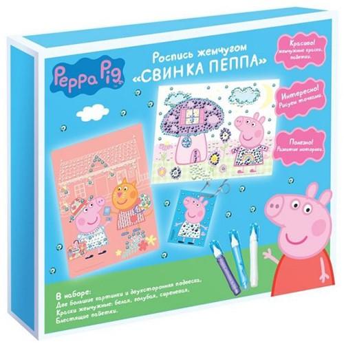 Набор Роспись жемчугом Свинка Пеппа, PEPPA PIG