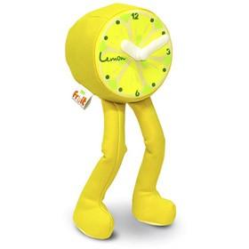 Часы настольные с ножками Лимон