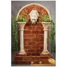 Напольный фонтан-стенка  «Сила Зевса»