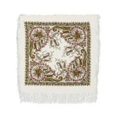 Павлопосадский шерстяной платок Балаганчик