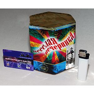 Батарея фейерверков и салютов «Веселая вечеринка»