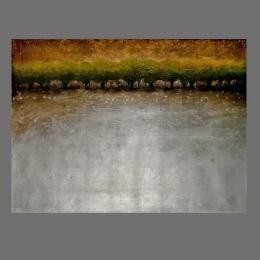Картина «Летний дождь», холст, масло.