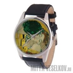 Часы Mitya Veselkov Поцелуй климта
