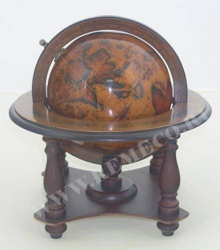 Подарочный глобус, высота 24 см
