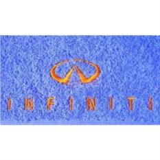 Махровое полотенце с логотипом Infiniti
