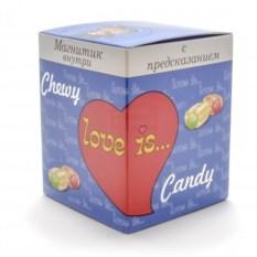 Набор жевательных конфет Love is.. (вкус - ассорти)