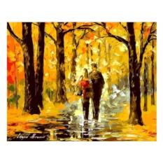 Картины по номерам «Счастливая пара» Леонида Афремова