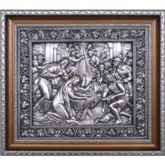 Картина из металла Рождество Христово