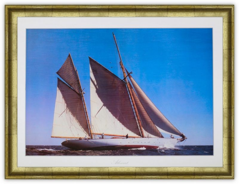 Постер Регата (яхта, море)