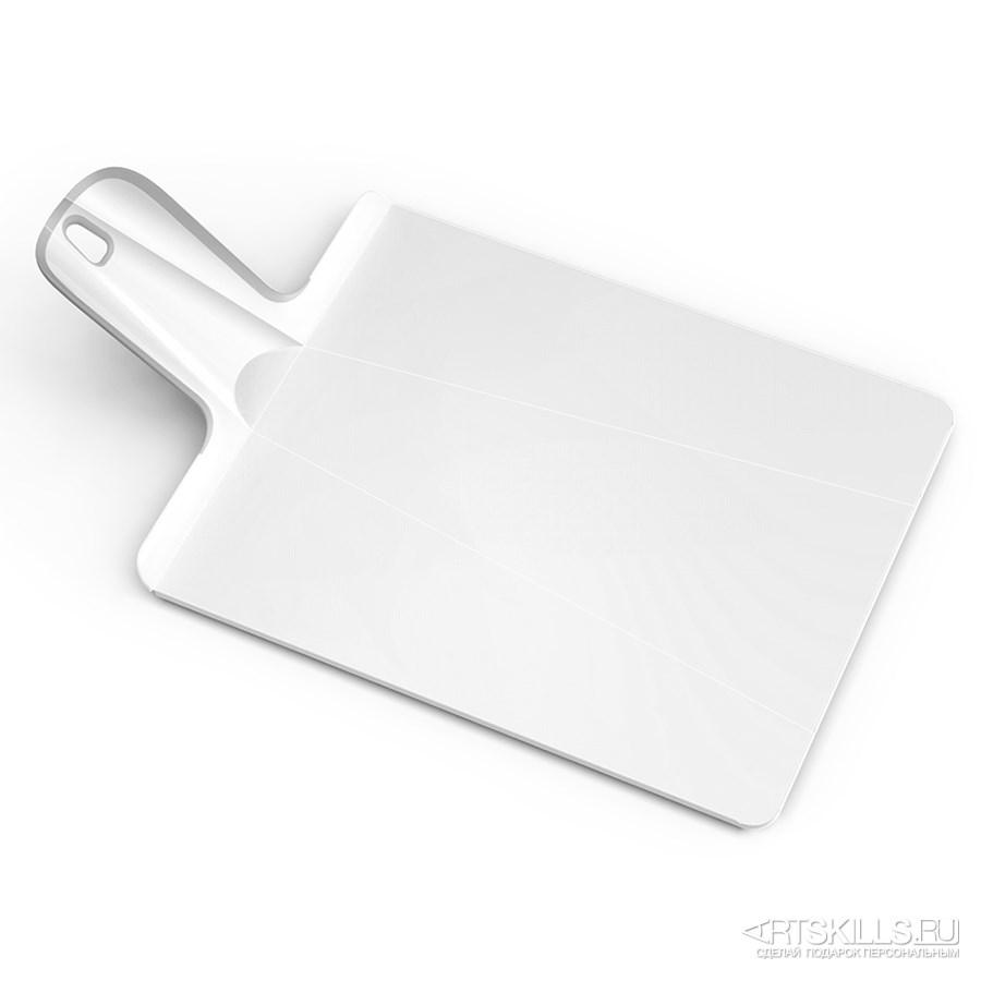 Средняя белая разделочная доска Chop2pot plus