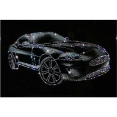 Картина с кристаллами Swarovski Спортивный автомобиль
