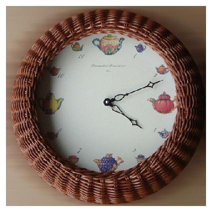 Часы настенные «Чайники» Diamantini Domeniconi