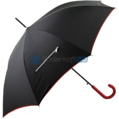 Зонт-трость с молнией Ferre