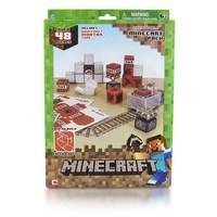 Бумажный конструктор Minecraft Вагонетка и ТНТ