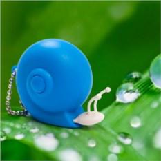Рулетка Snail (цвет — голубой)