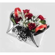 Статуэтка Конвертик с розами