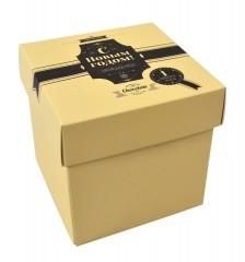 Картонная коробка крышка-дно для шоколада