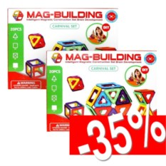 Набор магнитных конструкторов Mag-building