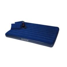 Надувной матрас Intex Classic, 2 подушки и насос