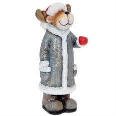 Декоративная фигурка Олень в синей шубке
