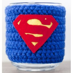 Кружка в чехле Супермен