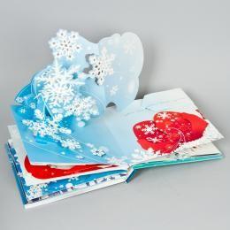 Книга-открытки «Снежинки»