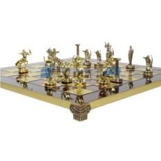 Сувенирные шахматы в кейсе Мифы Греции